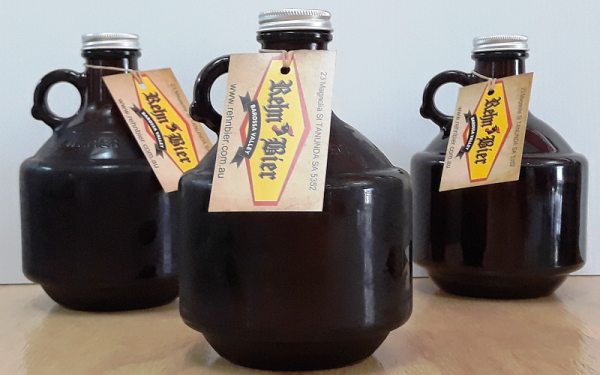 Three one litre beer carriers